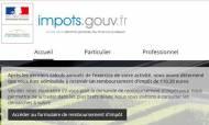 Arnaque mail Impôts 110,20 euros