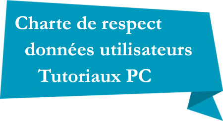 Charte Tutoriaux PC